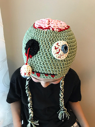 Pattern: Zombie Hat from Lovable Loops