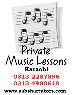 Music Lessons in Karachi for Guitar, Piano | Home Tutor