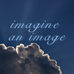 """Cloud with text """"imagine an image"""""""