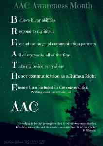 BREATHE AAC poster
