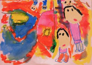 Image of a student's art