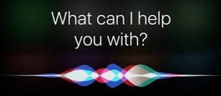 Image of Hey Siri screen on iPhone