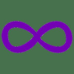 """the infinity sideways """"8"""""""