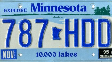 Minnesota Lawmakers Eye License Plate Data Change