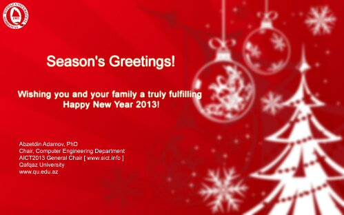 Seasons Greetings Wishing You And Your Family A Truly