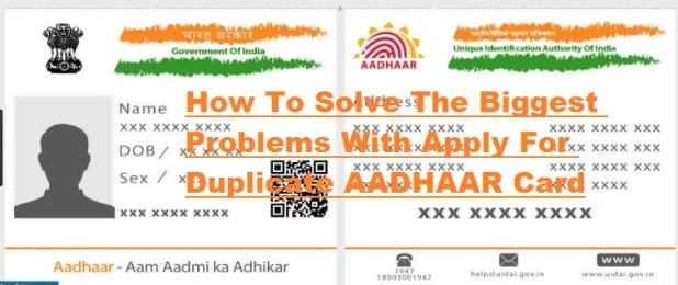Duplicate Aadhaar Card Search by Name