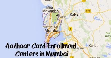 Aadhaar card centre in Mumbai