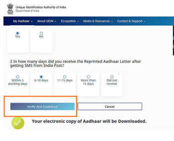 Aadhaar Card Download by Name