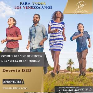 DED para los Venezolanos