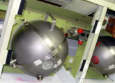 Aircraft Fire Protection System Extinguisher Bottle and Suppression Rack Assembly from Advanced Aircraft Extinguishers Ltd