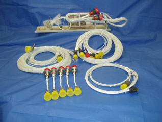 Aircraft Fire Protection System Electrical Harnesses & Pre-Wired Interface Tray Assembly from Advanced Aircraft Extinguishers Ltd