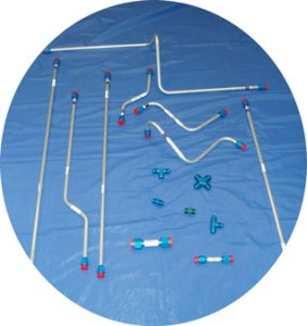 Aircraft Fire Protection System Suppression Distribution Tubing from Advanced Aircraft Extinguishers Ltd