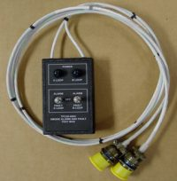 Aircraft Fire Protection System Smoke Alarm and Fault Test Box from Advanced Aircraft Extinguishers, Inc.