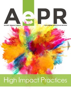 Photo of cover of July 201 issues of AePR