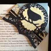 finished corner bookmark
