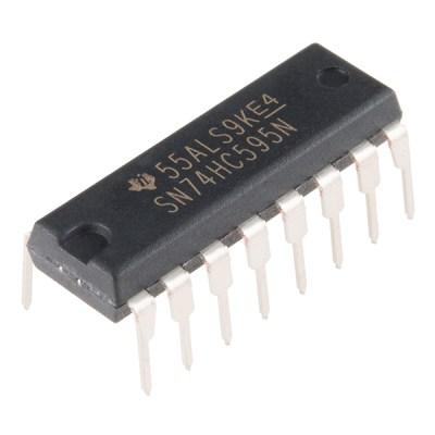 SN74HC595 Shift register