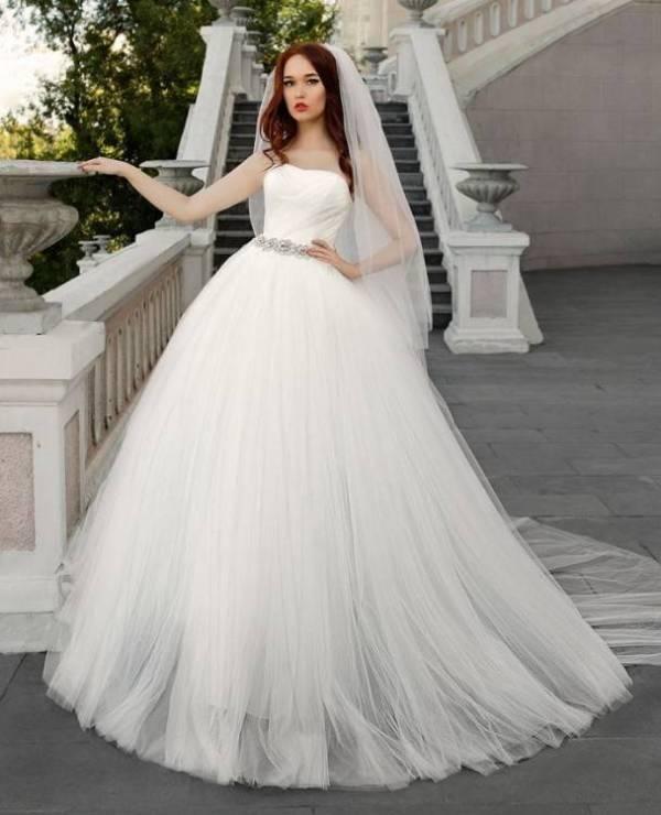 Пышные свадебные платья с корсетом фото — Женское счастье