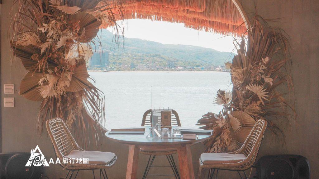 水灣餐廳榕堤全場焦點就是因為這個景點啊嘶~