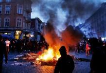 Amburg riots 2017