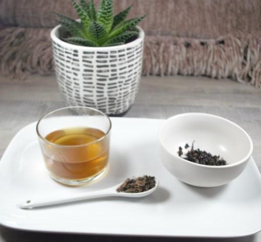 Tulsi Tea with brew
