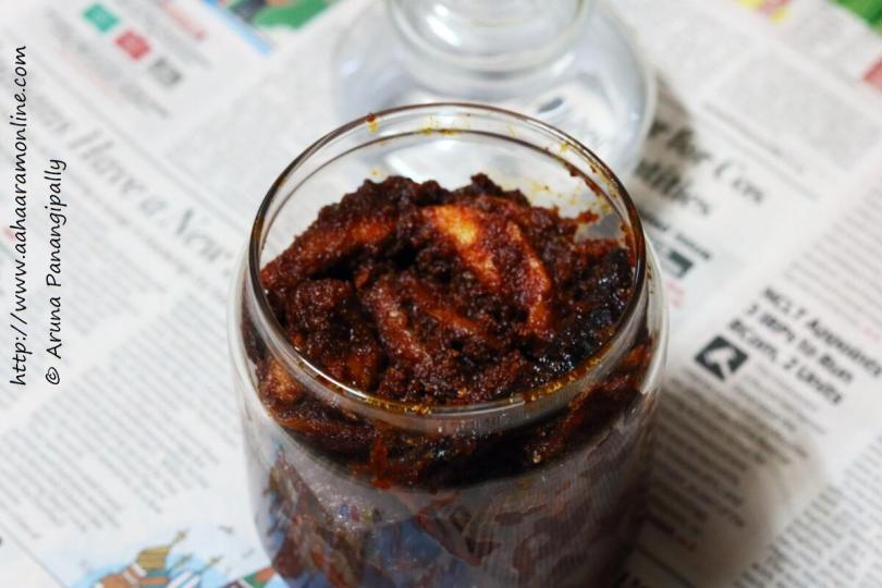 Magaya   Sun-dried Andhra Mango Pickle