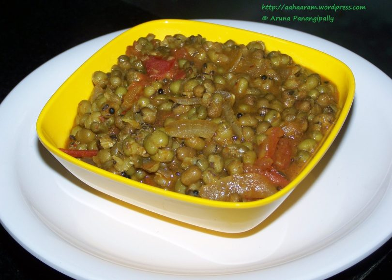 Moong Bhaji or Pesalu Koora