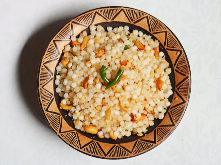 Sabudana Khichdi is eaten on days of fasting
