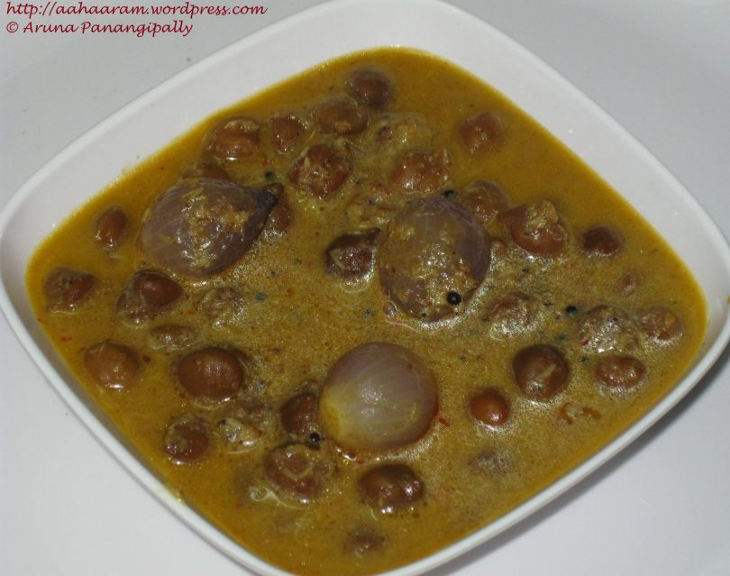 Kadala Curry or Horse Gram Curry