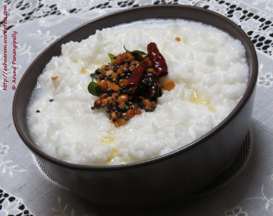 Daddojanam, Thair Sadam, Dahi Chawal or Curd Rice