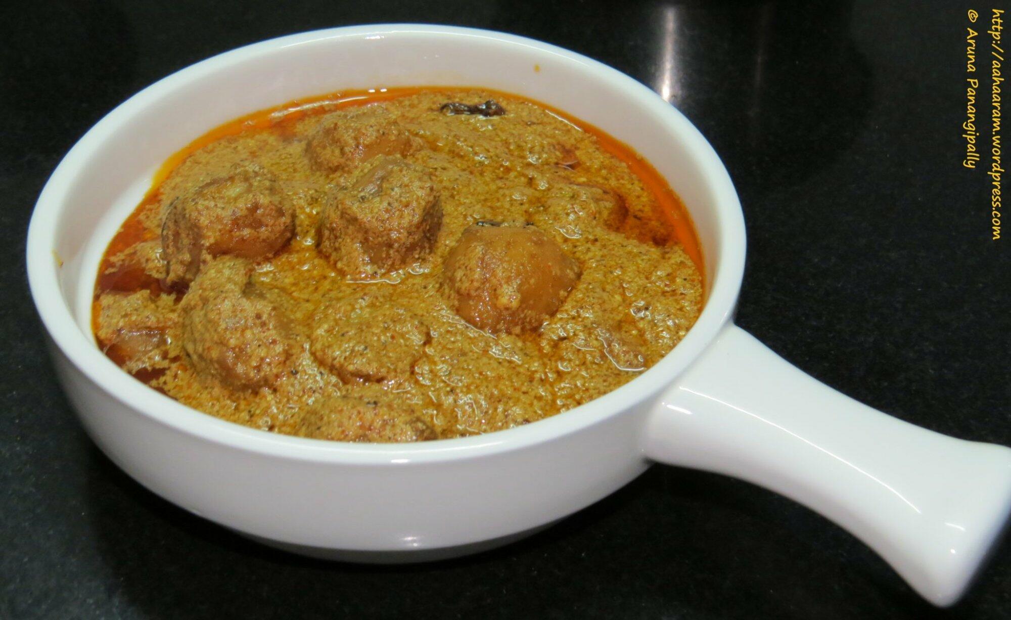 Kashmiri dum aloo baby potatoes in a yoghurt gravy hram kashmiri dum aloo forumfinder Gallery