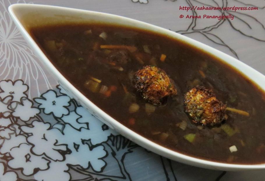 Vegetable Manchurian - Chinese Food - Mumbai Street Food
