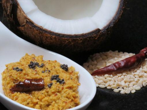 Kobbari Pachadi or Coconut Chutney