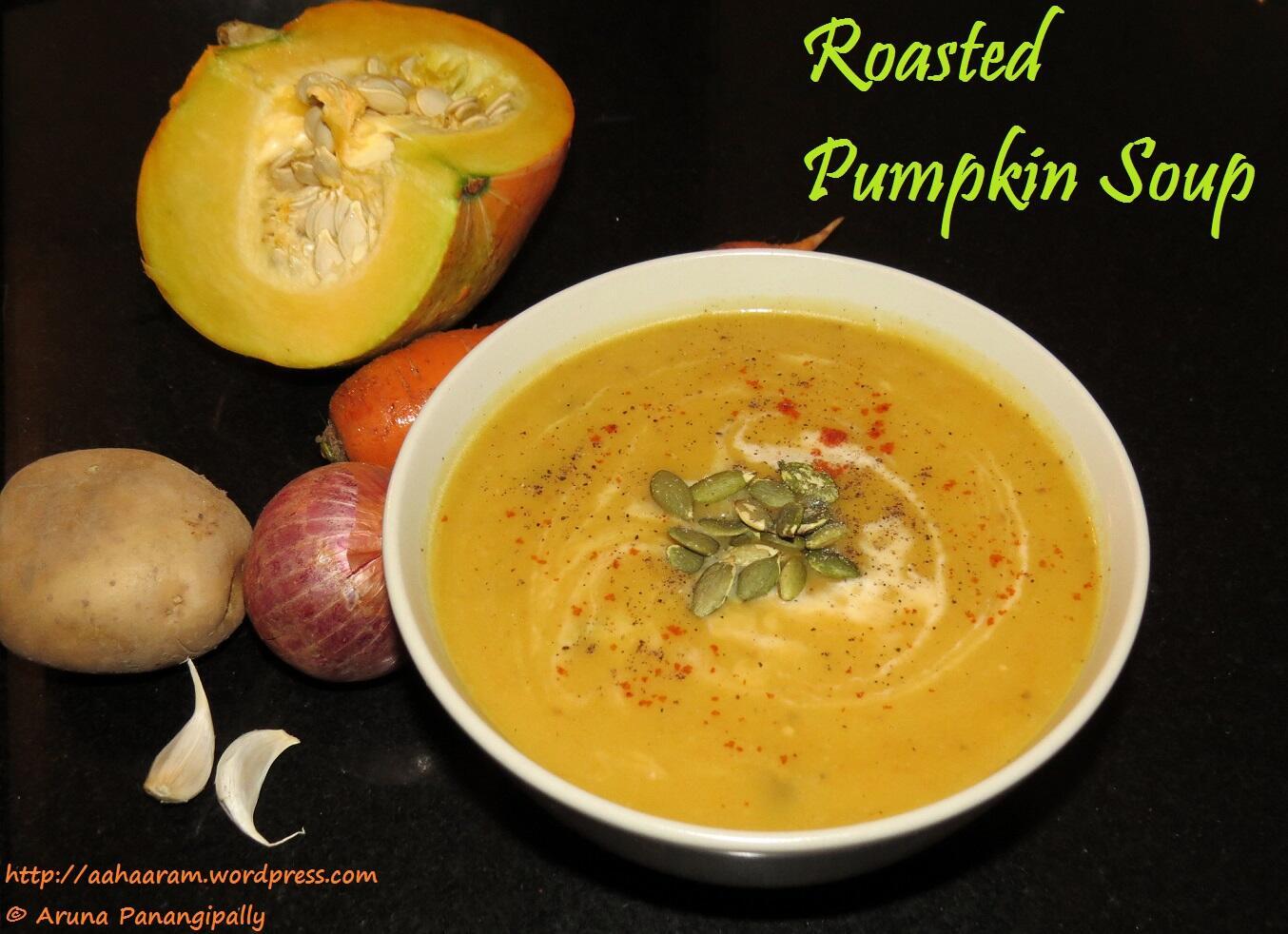 Roasted Pumpkin Soup - ãhãram