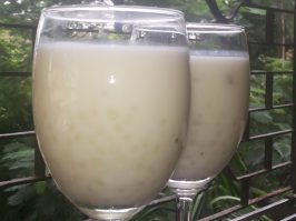 Saggubiyyam Payasam, Sabudana Kheer or Sago Pudding - 1