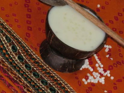 Saggubiyyam Payasam, Sabudana Kheer or Sago Pudding