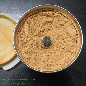 Idli Chutney Powder or Molaga Podi or Khara Podi