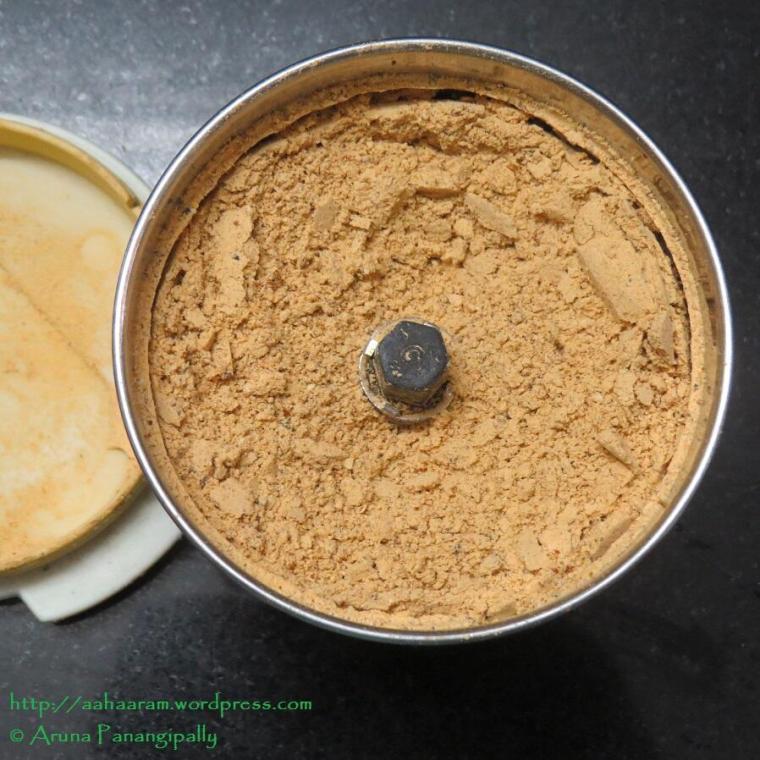 Idli Chutney Powder or Molaga Podi or Khara Podi