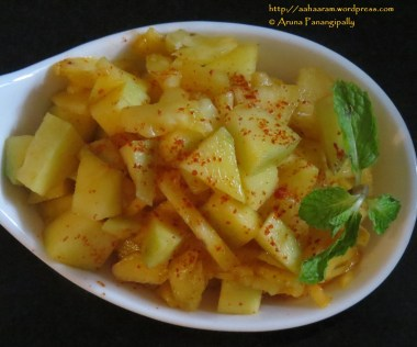 Mango Pineapple Salad or Salsa