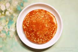 Dibba Rotti: A thick bread made in a kadai or wok with Idli Batter.