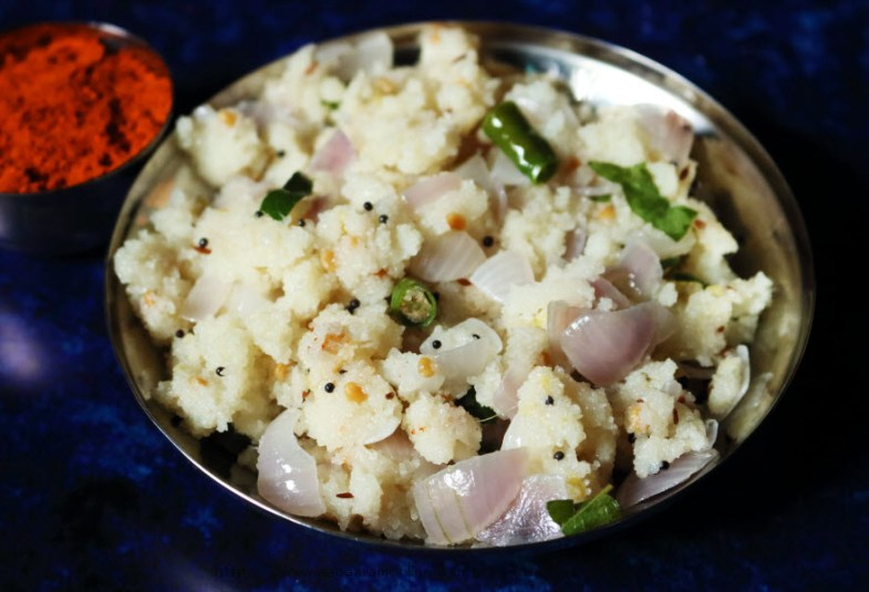Onion Upma | Rava Upma with Onion
