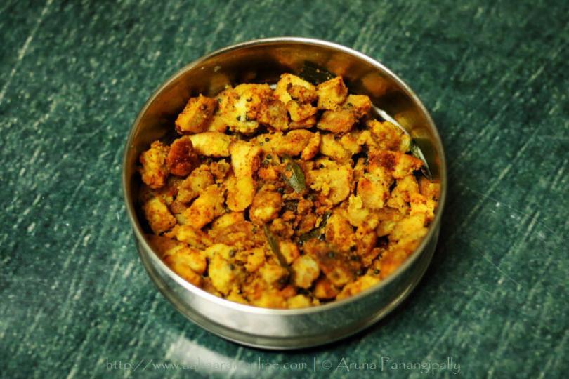 Chama Dumpa Vepudu | Crispy Arbi Fry from Andhra Pradesh