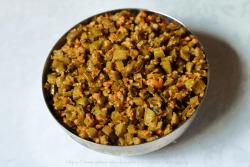 Goru Chikkudu Kura | Cluster Beans Stir-fry