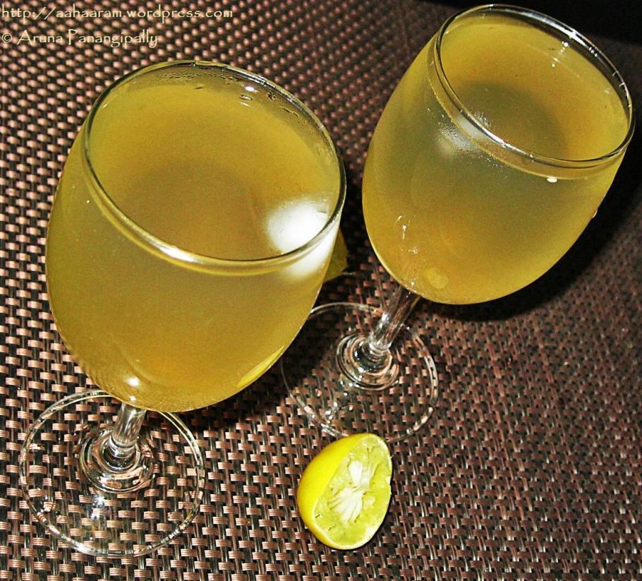 Shikhanjvi or Shikanji - Indian Lemonade