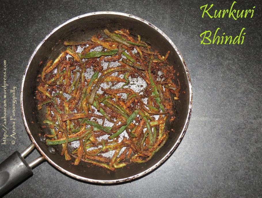 Kurkuri Bhindi, Crispy Okra