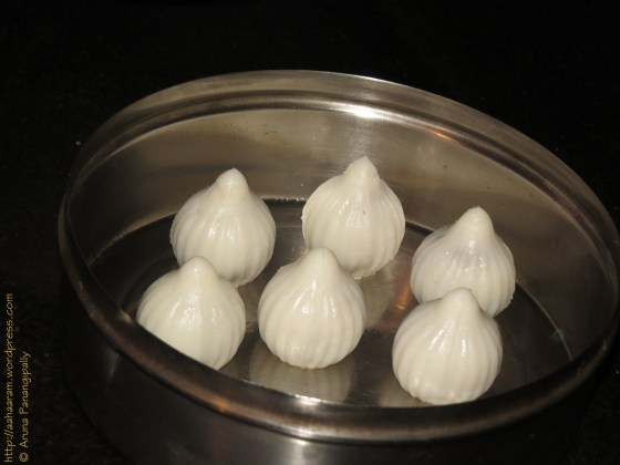 Modak or Kozhukattai - Ready to Be Steamed