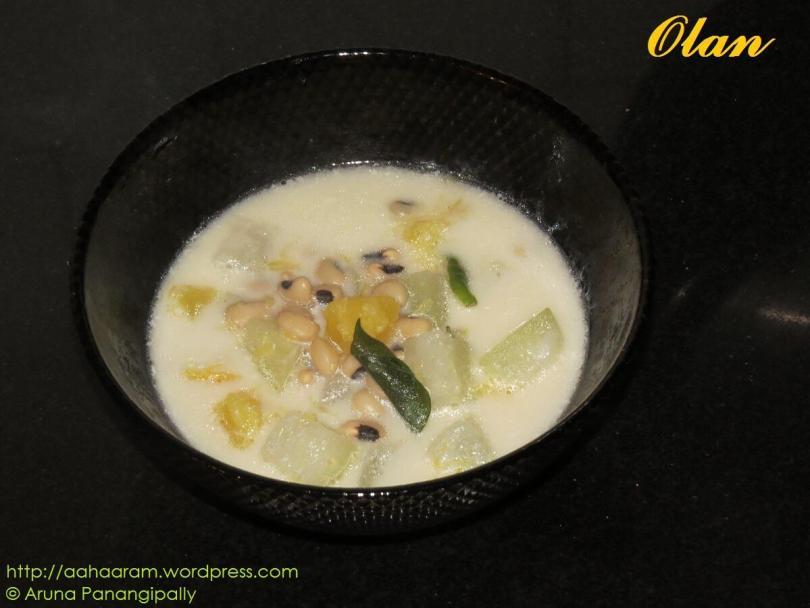 Olan - Kerala Onam Sadya Recipe