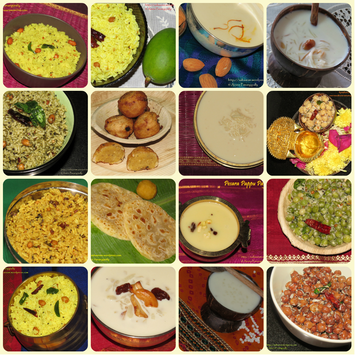 Varalakshmi Vratam: Recipes for Naivedyam
