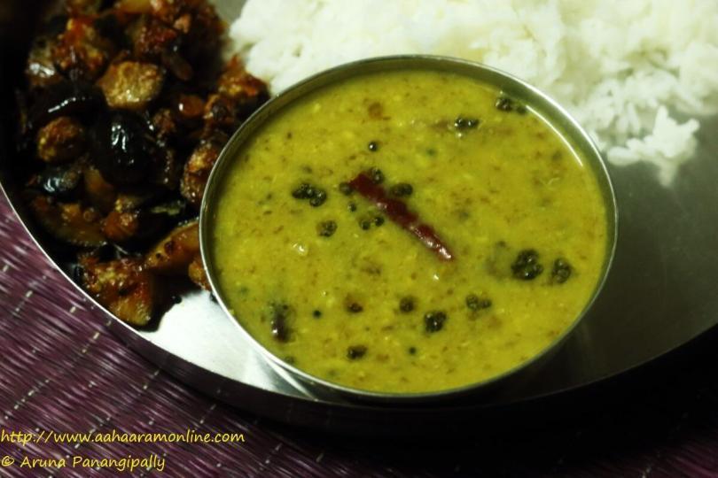Andhra Chukka Kura Pappu | Dal with Ambat Chukka/Khatta Bhaji