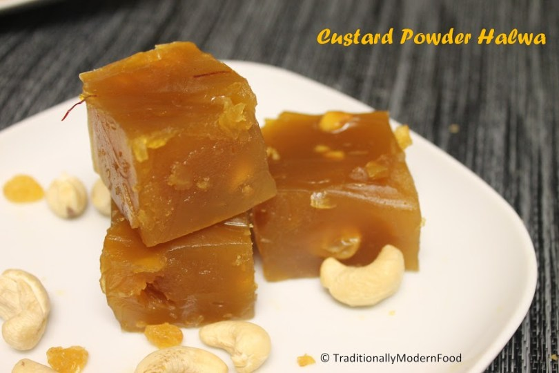 Custard Powder Halwa