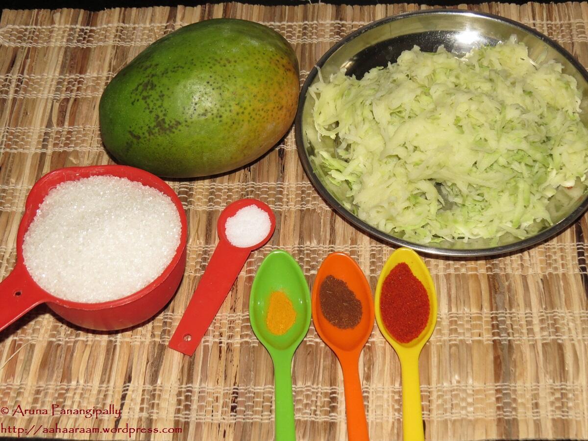Keri No Chundo or Kairi Chunda - Ingredients
